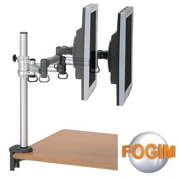福利品》FOGIM 夾桌懸臂式液晶螢幕支架(單螢幕)-終身保固-TKLA-5082C4-SM