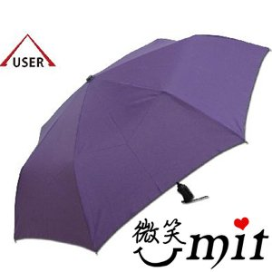 【微笑MIT】張萬春/張萬春洋傘-奈米超撥水自動開收傘 AT3011(紫)