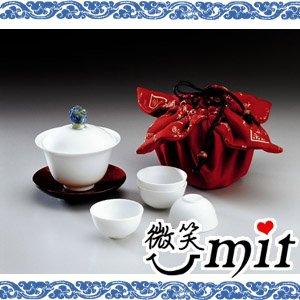 【微笑MIT】存仁堂/存仁堂藝瓷-喜事來蓋杯組
