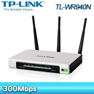 TP-Link TL-WR940N 300M 2T3R無線寬頻分享器