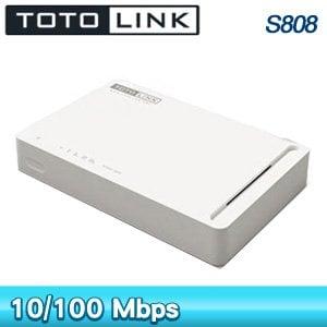 TOTOLINK  S808 8埠 家用 乙太網路交換器