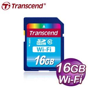 Transcend 創見 WIFI 16G SDHC(CL10) 記憶卡