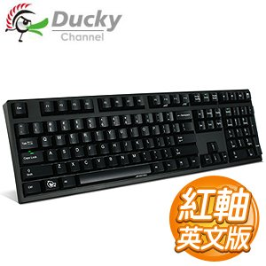 Ducky 創傑 DK2108 ZERO 紅軸 英文 機械式鍵盤