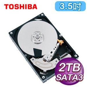 Toshiba 東芝 2TB 3.5吋 64M快取 SATA3企業級硬碟(MG03ACA200)