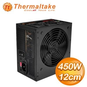 Thermaltake 曜越 Litepower 450W/12cm 電源供應器〈LT-450CNTW〉