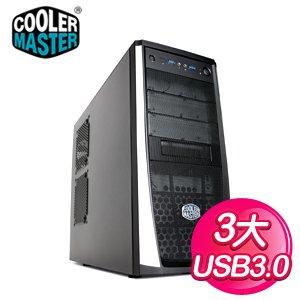 Cooler Master 酷碼 RC-371/雙USB3 黑3大電腦機殼