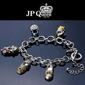 【JP Queen New York 】鑽石踢踏舞鞋典藏T扣手鍊
