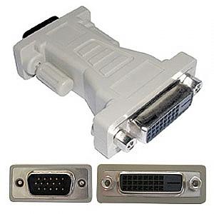 DVI-D-VGA 轉接頭 (DVI-ADP-25F15M)