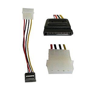 硬碟電源線(SATA)15M-大4P 18AWG, L=15cm